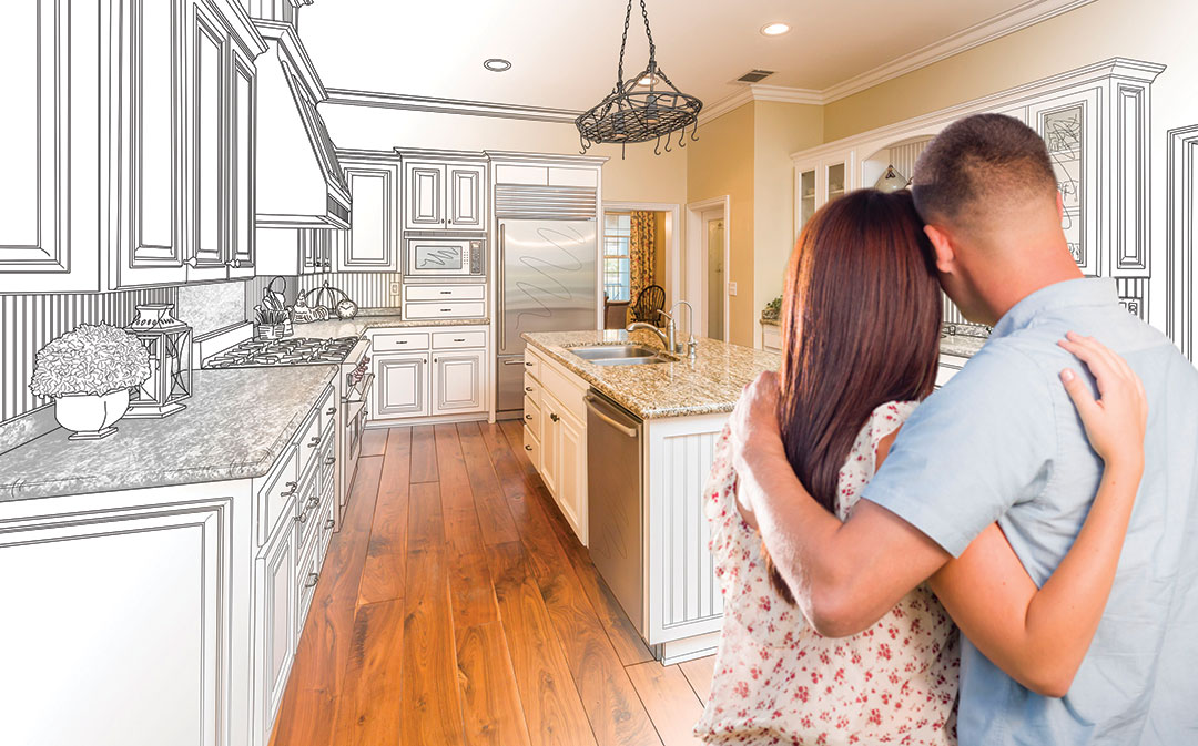 Couple Design Dream Kitchen